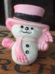 画像1: 70s Avon Fragrance Glace Pin Snow Man (MA872) (1)