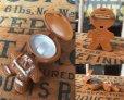画像2: 70s Avon Fragrance Glace Pin Ginger Man (MA873) (2)