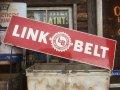 Vintage Link Belt Sign (MA885)
