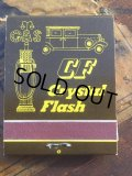 Vintage Matchbook Crystal Flash GAS (MA5724)