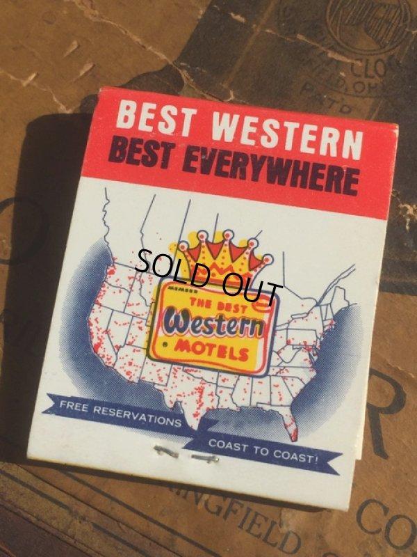 画像1: Vintage Matchbook Best Western (MA5427)