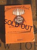 Vintage Matchbook Clairemont Bowl (MA5617)