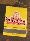 Vintage Matchbook Straw Hat Pizza Palace (MA5611)