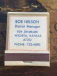 画像2: Vintage Matchbook STANDARD BOB NELSON (MA5722) (2)