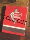 Vintage Matchbook HYATT LODGE (MA5400)