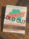 Vintage Matchbook BARNEY'S (MA5418)