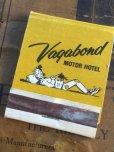 画像1: Vintage Matchbook Vagabond Motor Hotel (MA5746) (1)