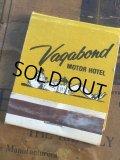 Vintage Matchbook Vagabond Motor Hotel (MA5746)