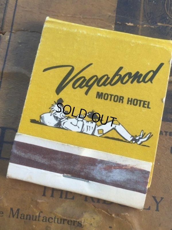 画像1: Vintage Matchbook Vagabond Motor Hotel (MA5746)