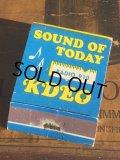 Vintage Matchbook RADIO 910 (MA5632)