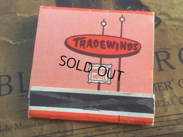 画像1: Vintage Matchbook Tradewinds Motor Hotel (MA5740)