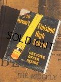 Vintage Matchbook Finished High School (MA5626)
