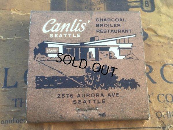 画像2: Vintage Matchbook Canlis Restaurant (MA5713)