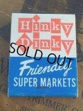 Vintage Matchbook Hinky Dinky Super Markets (MA5697)