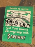 Vintage Matchbook SAFEWAY School of Driving (MA5394)