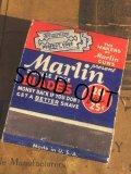 Vintage Matchbook Marlin (MA5599)