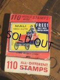 Vintage Matchbook 110 STAMPS (MA5379)