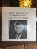 Vintage LP JFK THAT WAS THE WEEK THAT WAS (MA987)