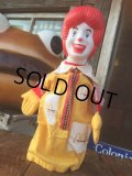 90s Vintage Puppet Doll Ronald McDonald (MA996)