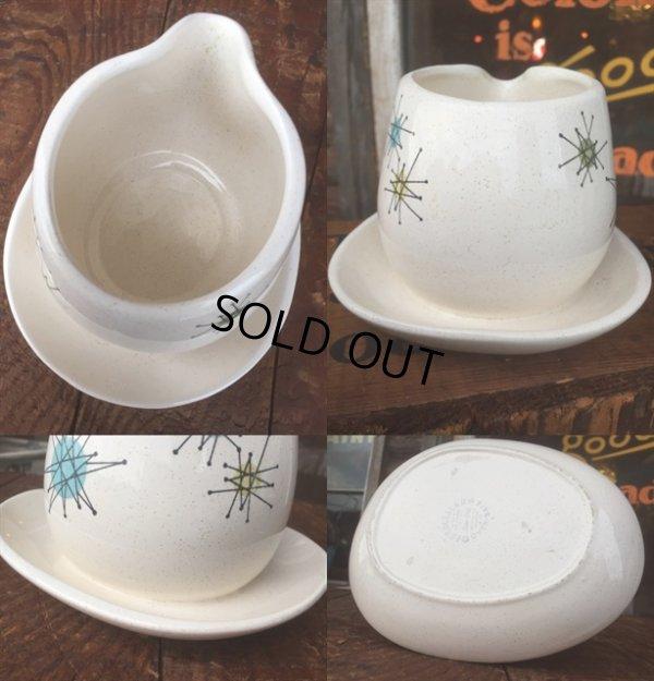 画像3: 50s Vintage Franciscan Starburst Gravy Bowl (AL032)