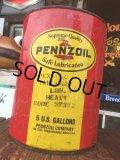 Vintage Pennzoil 5GL Motor Gas/Oil Can (AL049)