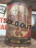 SALE Vintage Oil Can / Kendall The 2000 MILE OIL (AL071)