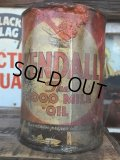 SALE Vintage Oil Can / Kendall The 2000 MILE OIL (AL074)