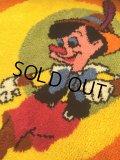 Vintage Disney Pinocchio Round Rug (AL100)