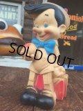 Vintage Dell Disney Pinnochio Rubber Doll (AL102)