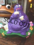 Vintage McDonalds Grimace Wall Decor Store Display (AL109)