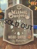 Vintage Levi's Millers Outpost General Jeans Store Sign Clock (AL113)