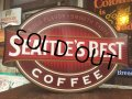 Vintage Seattles Best Coffee Lighted Store Sign (AL114)