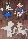 画像4: 50s Vintage Dolly Toy Pin Ups Wall Decor Cat and Fiddle (AL178) (4)