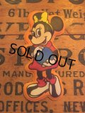 70s Vintage Disney Puffy Magnet Minnie (AL4523)