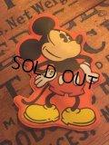70s Vintage Disney Puffy Magnet Mickey (AL4535)