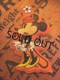 70s Vintage Disney Puffy Magnet Minnie (AL4533)