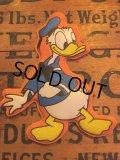 70s Vintage Disney Puffy Magnet Donald Duck (AL4519)