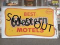 60s Vintage Best Western Motels Sign (AL247)