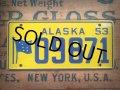 50s Vintage Bicycle License Plate 09871 (AL278)