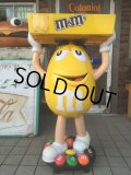 Vintage M&M's Store Display Yellow (AL306)