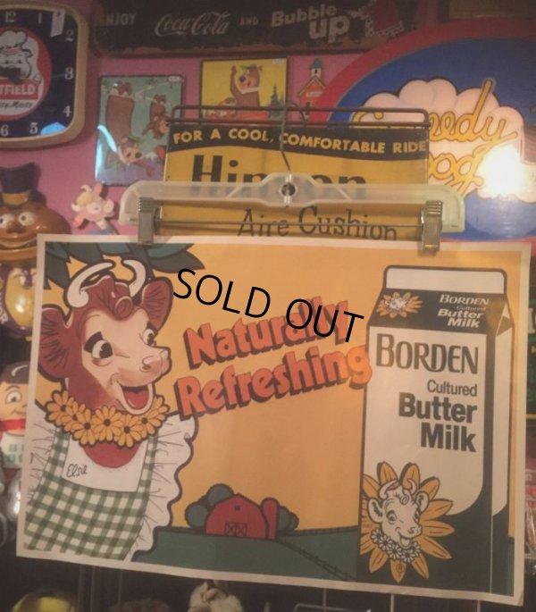 画像1: Vintage Ad Poster Borden Elsie the Cow (AL430)