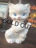 50s Vintage Rubber Doll Kitty Cat   (AL435)