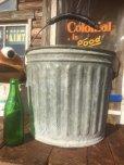 画像1: Vintage Metal Bucket  (AL440) (1)