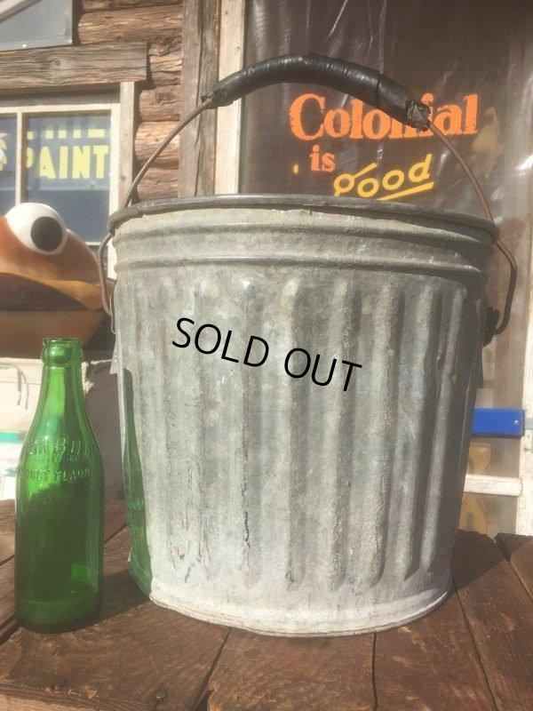 画像1: Vintage Metal Bucket  (AL440)