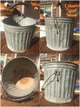 画像2: Vintage Metal Bucket  (AL440) (2)