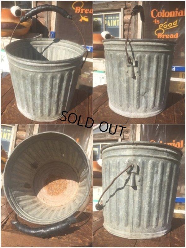 画像2: Vintage Metal Bucket  (AL440)