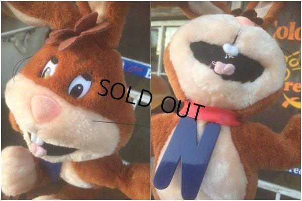 画像2: Vintage Nestle Nesquik Bunny Plush Doll (AL455)