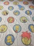 画像1: Vintage Simpsons Twin Flat Sheet (AL475) (1)