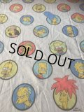 Vintage Simpsons Twin Flat Sheet (AL475)