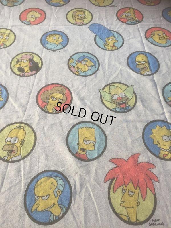 画像1: Vintage Simpsons Twin Flat Sheet (AL475)
